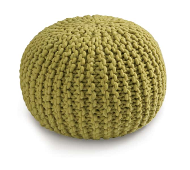 Fibre Design's covetable Pebble Pouffe
