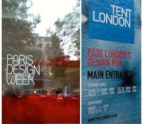Fibre Designs visits Paris and London's Design Festivals