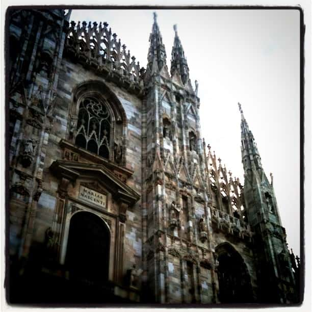The majestic Duomo catherdral
