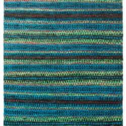 Hemp & Sari Silk Mix, Green