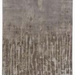 Frayed in Grey, Handtufted Wool