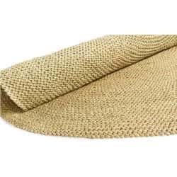 Round Crocheted Floor Matt