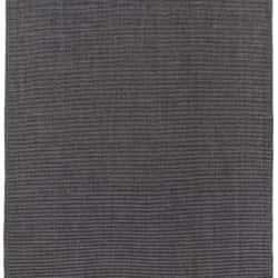 Double Backed Flatweave, Black & Grey