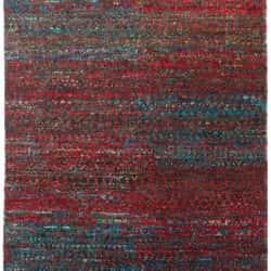 Hemp & Sari Silk Mix, Red