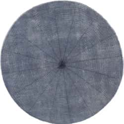 Crackle, Hand tufted & painted (round)