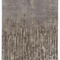 Frayed in Grey, Handtufted Wool