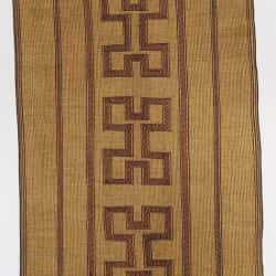 TC 04, Tuareg Reed Mat, Circa 1970, 255cm x 340cm