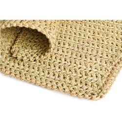 Rectangular Crocheted Floor Matt